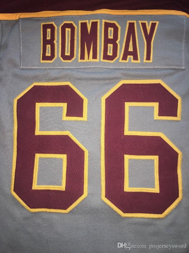 # 66 Gordon Bombay ÇOK NADIR HAYıR Reaktör Gordon Bombay Gunner Stahl Mighty Ördekler Dalgalar Hokeyi Forması Herhangi İsim ve Herhangi Bir Numara Ücretsiz Kargo