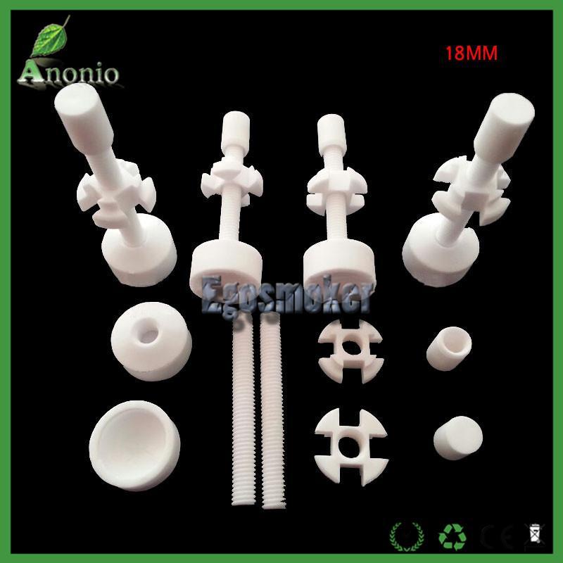 Großhandelspro Los Keramischer Nagel 10mm / 14mm / 18mm, 14mm18mm Doppelt verbundene justierbare keramische Nägel VS Titannagel-Quarznagel