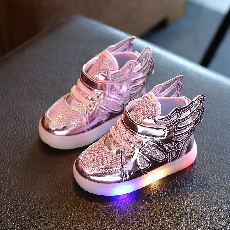 Lumineuses Chaussures Avec Acheter Baskets Enfants Pour Lumière 2017 f7IYg6ybv