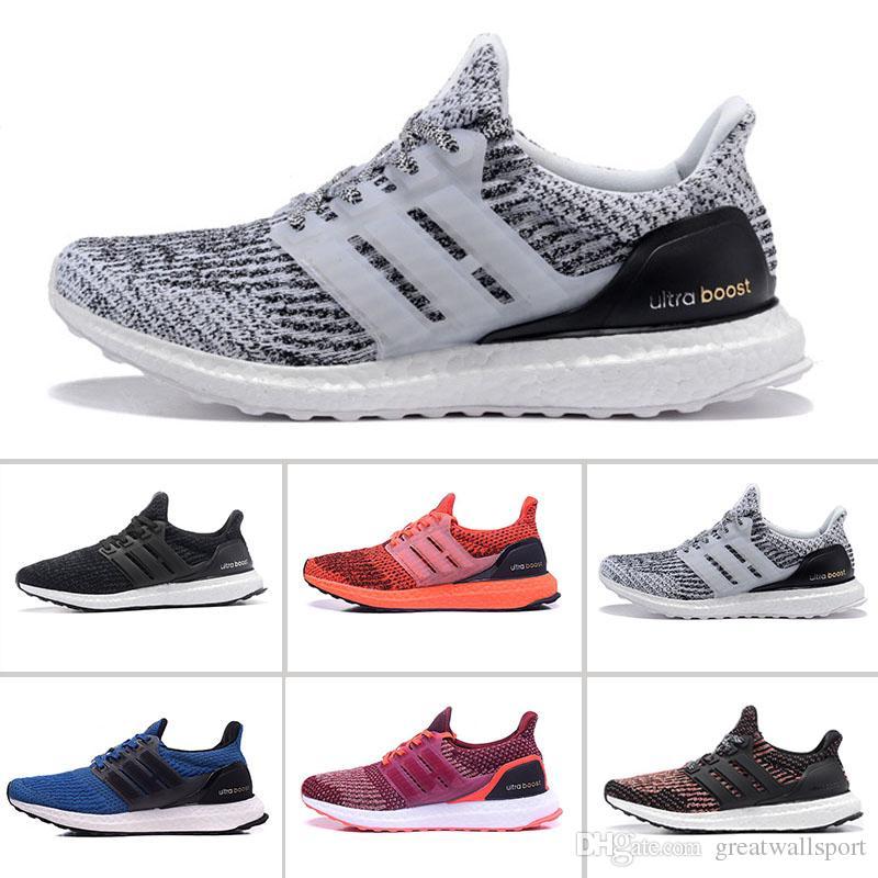 Compre Nuevo Adidas Ultra Boost 3.0 Triple Negro Zapatillas De Deporte Mujer  Ultraboost 3 Primeknit Runs Hombre Zapatos Blanco Casual Ultrals Boosts Mes  ... 6e174df67fd90