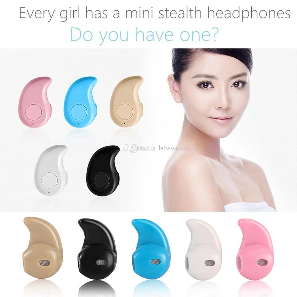 For Iphone X 8 S530 Mini Wireless Small Bluetooth Earphone Stereo Light Stealth Headphone Headset Earbud With Mic Ultra-small Hidden