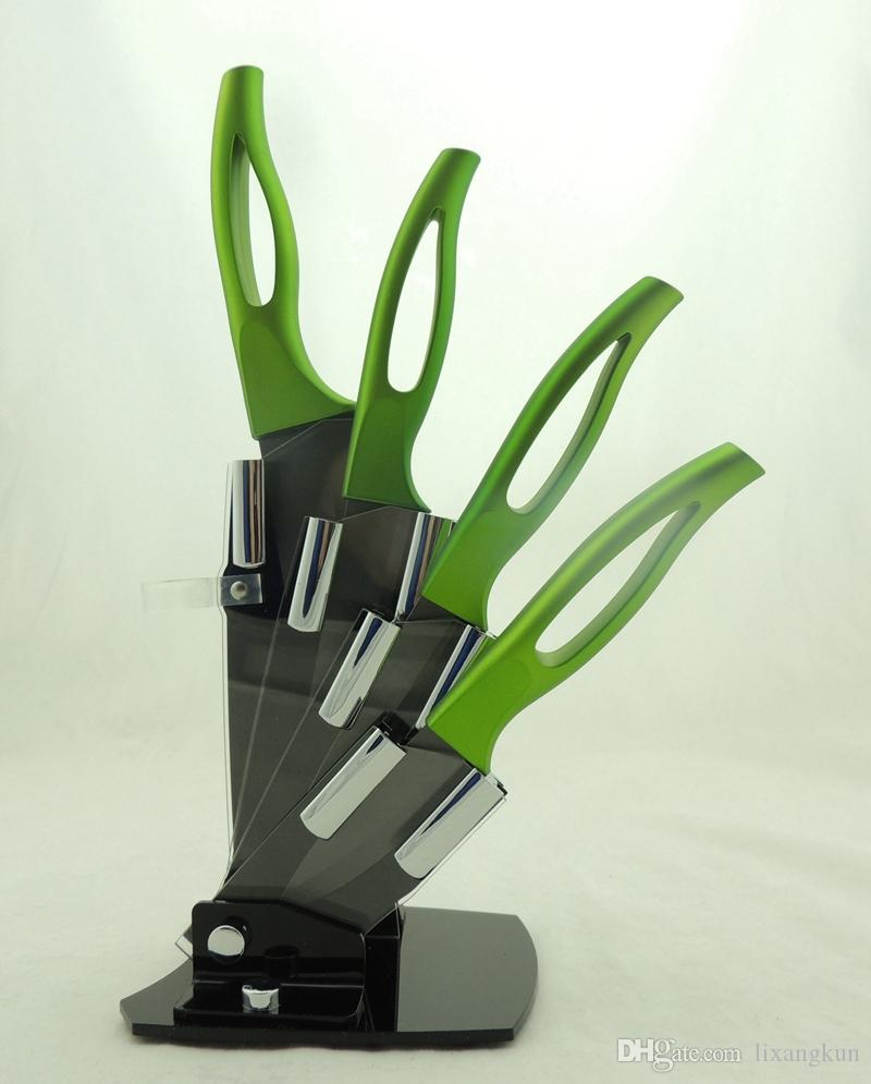 multi function low price ceramic type kitchen knives set with