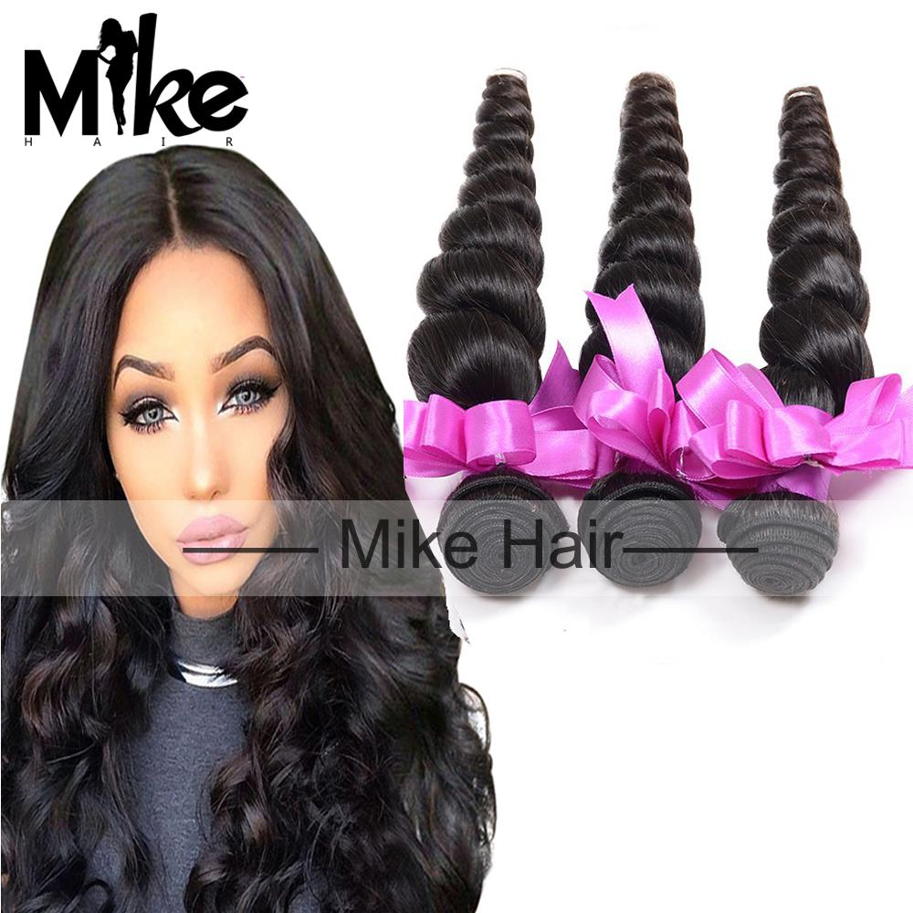 3 Bundles 5a Virgin Malaysian Human Hair Loose Wave Human Hair
