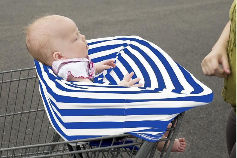 Multi-Use Baby Car Seat Cover Canopy Nursing Breastfeeding Shopping Cart High Chair Cover INS Stroller Sleep Buggy Cover