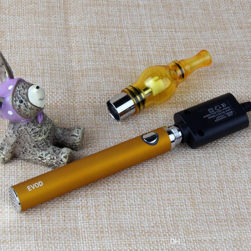 Evod Vape Pen Dab Wax Pen Starter Kit con Mini Carry Case EGO T Dry Herb Vaporizzatore Serbatoi 650 900 1100 mAh Batteria
