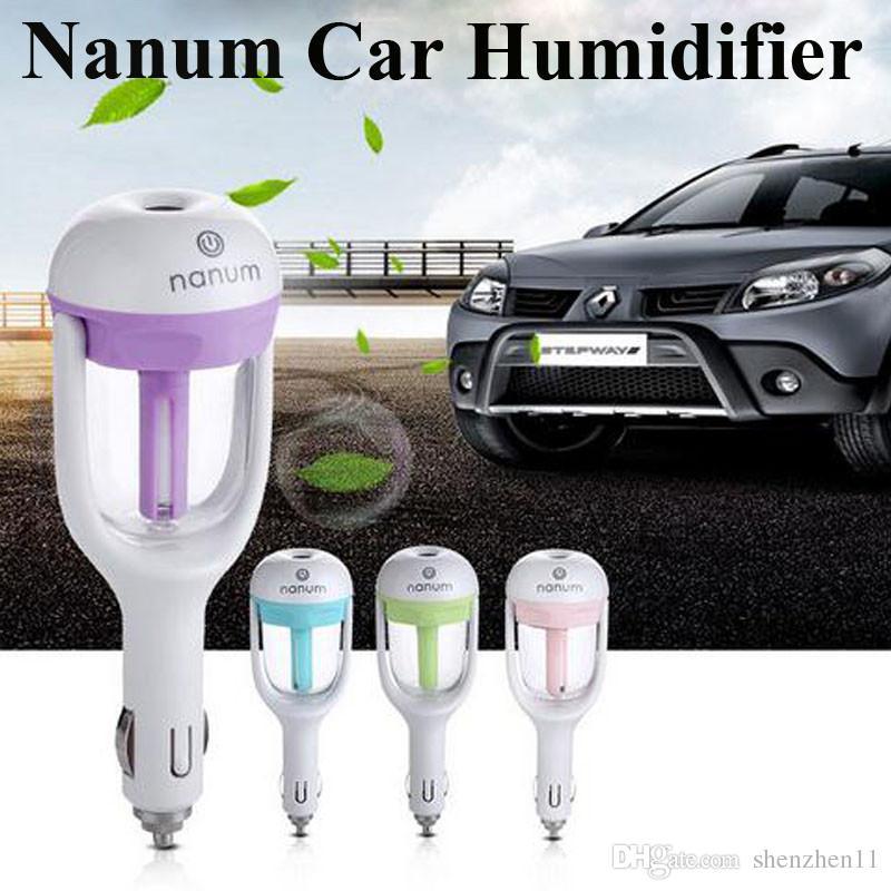 Nanum Fashion New Mini Ricarica Bottiglia d'acqua portatile Umidificatore a vapore Air Mist Diffusore Purificatore Auto Office Room OTH245