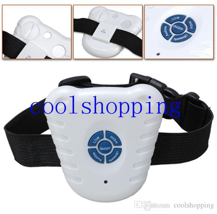 Safe Ultrasonic Dog Pet Stop Barking Anti Bark Training Trainer Control Collar
