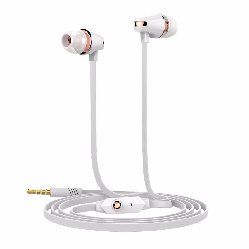 New Arrival Langsdom 3.5mm Stereo Earphone Headphone Super Bass Headset with Mic for Mobile Phone iphone samsung xiaomi