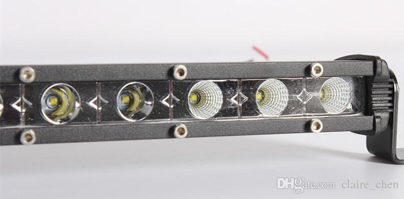 Cree 36w 13inch mini led offroad driving light bar led fog light bar for 12v SUV ATV truck car led light bar combo beam