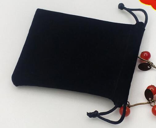 7 * 9 centímetros de jóias de veludo Bolsa Gift Bags Presente Fit Embalagem para Colar Pulseira Brinco Mobile Power saco de pano