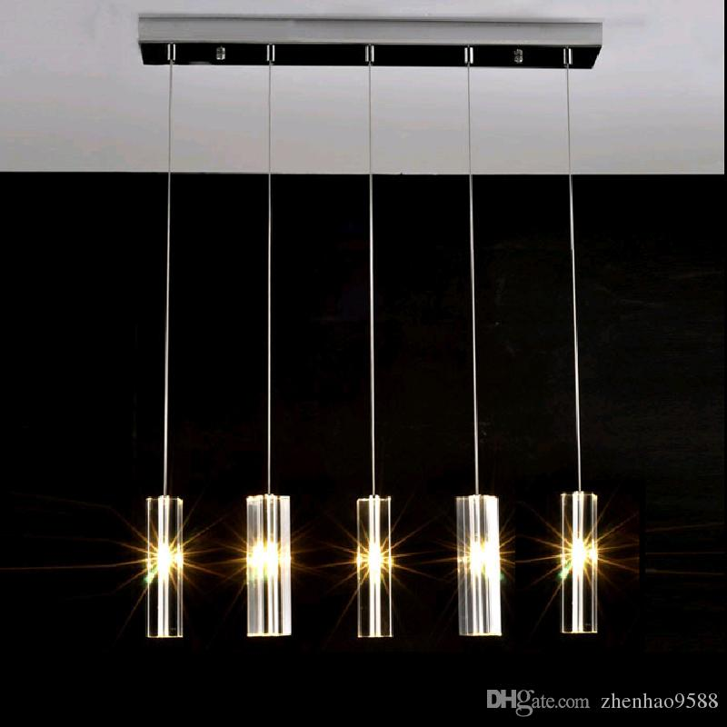 Hanging Dining Room Lamp Led Pendant Lights Modern Kitchen Lamps Dining Table  Lighting For Dinning Room Home Pendant Light Clear Glass Pendant Lights ...