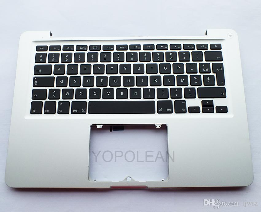 "For Macbook pro 13.3"" A1278 Palmrest Top case with French keyboard AZERTY Version 2011 2012 Year"
