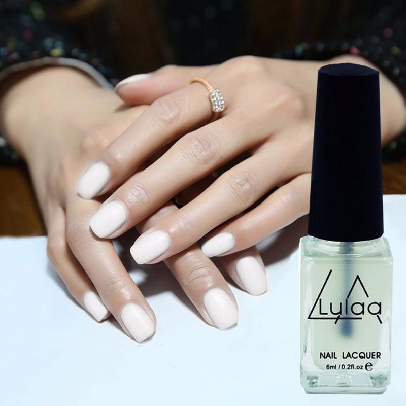 6ml Lulaa Nail Gel Polish Long Lasting Super Matte Transparent Nails ...