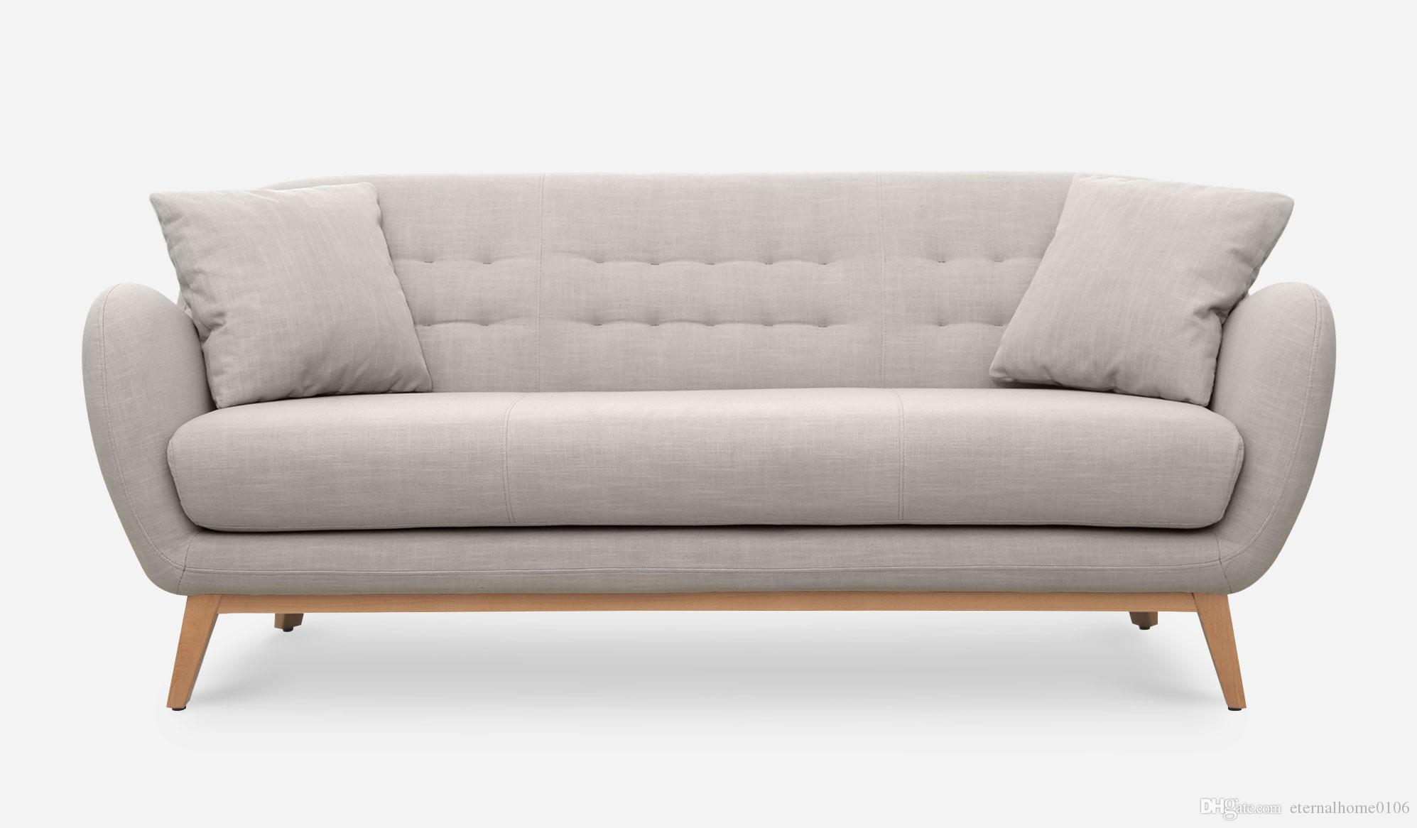 Compre Mid Century Mobiliario Moderno Muebles Otomana Salón Sofá De ...