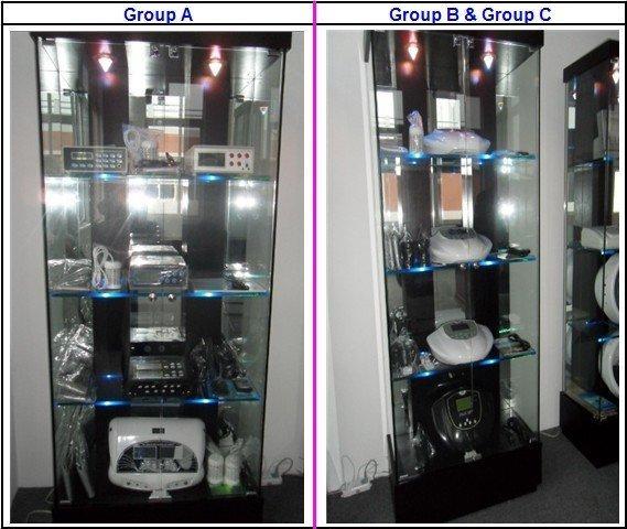 하이테크 듀얼 론 정화 해독 발 스파 DHL / 페덱스 / UPS / EMS 높은 이온 청소기 해독 기계 스파 살롱 머신
