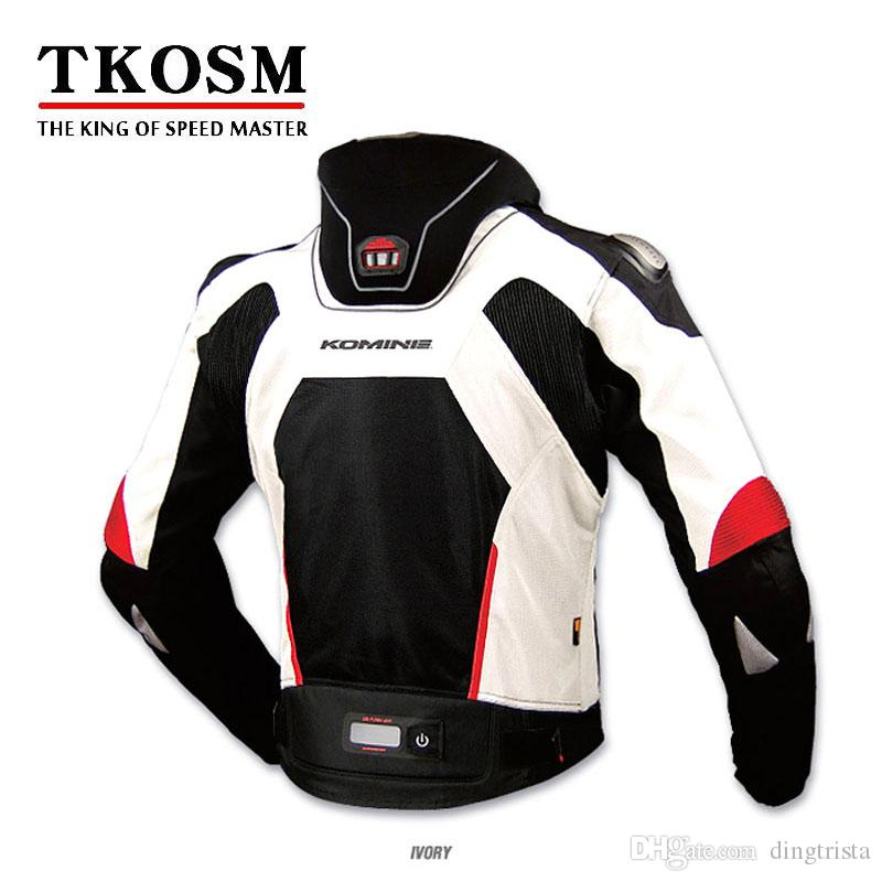 Tkosm komine JK-015 سلامة الملابس دراجة نارية سباق يندبروف الستر ركوب الدراجات النارية جاكيتات للدراجات خارج raod الملابس