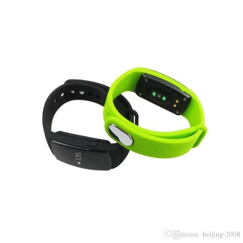 Wristband multifunzione Fitbit FLEX ZS107 multifunzione Bluetooth 4.0 Bracciale cardiofrequenzimetro da polso sportivo IOS Android