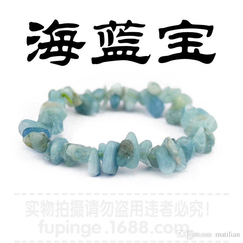 Braccialetto di pietra del braccialetto dei braccialetti della pietra dell'agata dell'ametista del turchese della giada all'ingrosso-