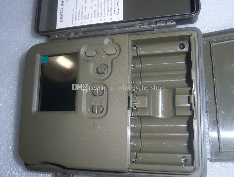 DHL HT-002AA Rain-proof Wildlife Hunting Camera HD Digital Infrared Scouting Trail Camera IR LED Video Recorder