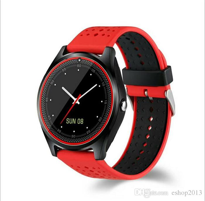 V9 Bluetooth Smart Watch Support TF SIM card 2G With Camera Pedometer Health Sport Dial Phone Call Smartwatch For Android IOS