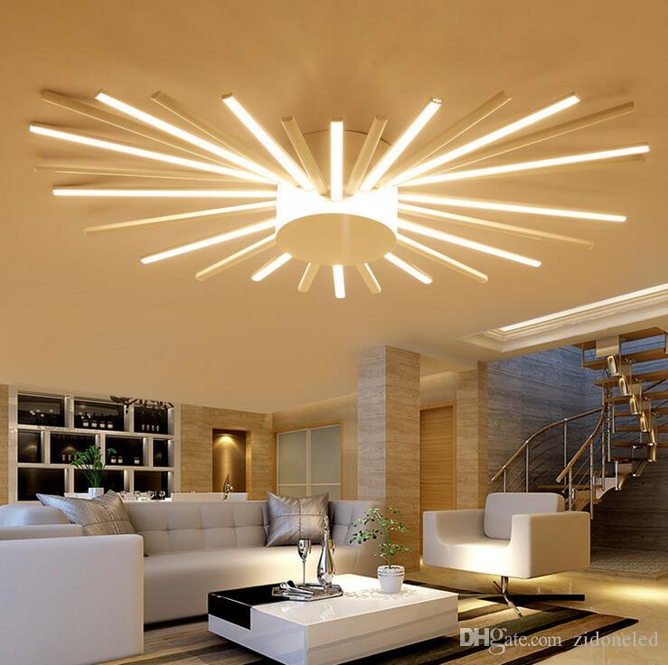 Modern minimalism led ceiling light aluminum chandelier modern ceiling lamp fixture for living study room bedroom indoor lighting pendant lighting lighting