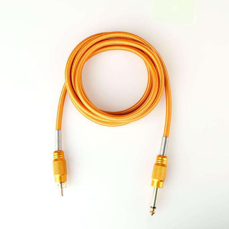 Wholesale Pure Copper RCA Clip Cord Pro Tattoo Power Machine Supplies RCA Clip Cord Tattoo Supply TPS5122
