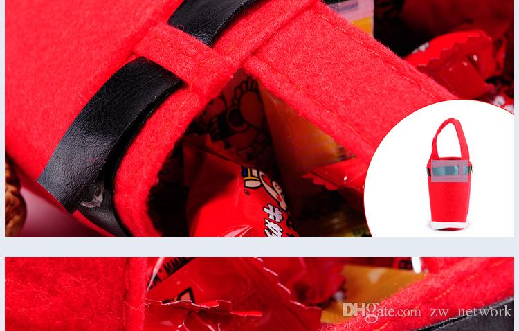 Mode De Noël Santa Pantalon Sac Esprit Sacs De Bonbons De Noël Décoration Sac Mignon Enfant Cadeau Home Party Decor 77