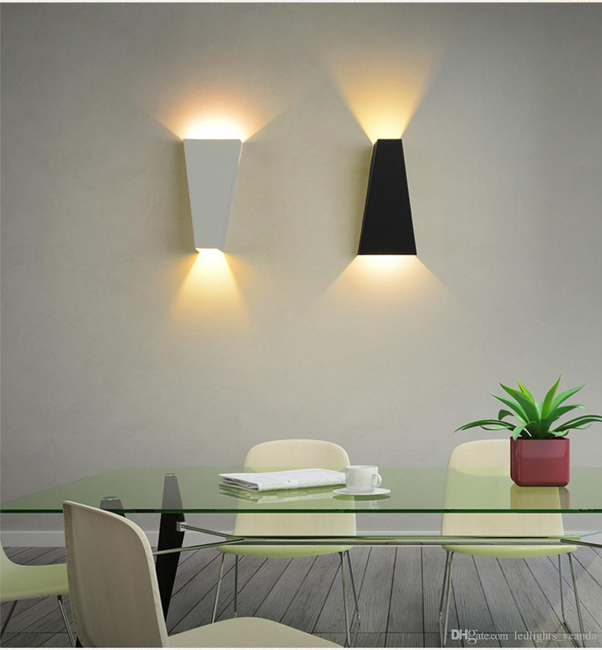 Fashion Furniture 6W LED Wall Lamps for Bedside Lights Night ...