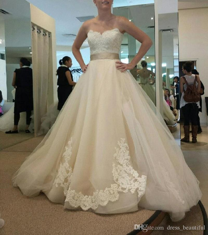 Vintage Wedding Dresses For Sale: Hot Sale Charming Vintage Lace Wedding Dresses With