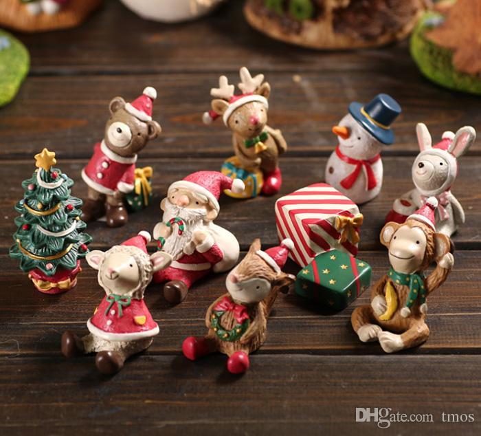 2017 Christmas Resin Crafts Nature Miniature Micro