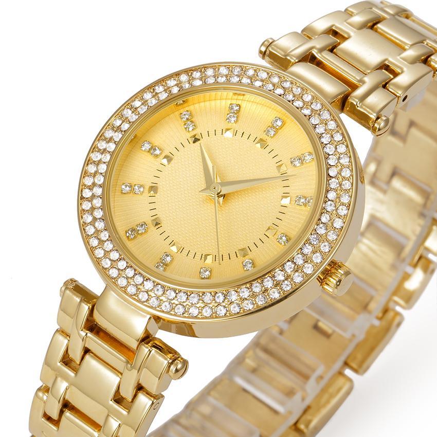 Compre Belbi Vestido De Lujo De Las Mujeres Relojes Moda Reloj De Cuarzo  Resistente Al Agua De Aleación Diseño De Diamante Para La Señora Relojes De  Pulsera ... 696ba0f7f4e0