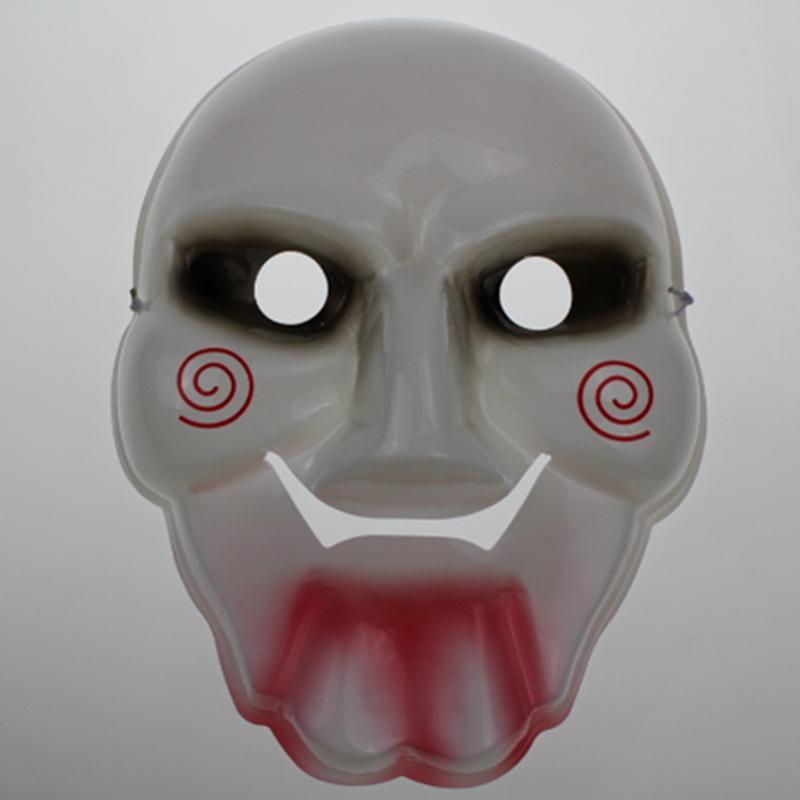 Maskerade Kleid Tod Film Saw Halloween Maske Narr Killer Killer Grausigkeitschablone PVC umweltfreundlichen Materialien Maske