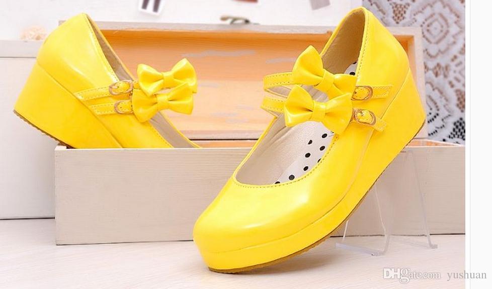 Chambre Cosplay Chaussures Femme Lolita Princesse De DIH9E2