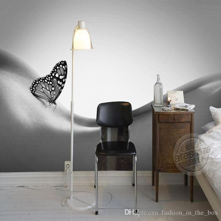 Body art wallpaper black and white wall murals custom 3d Black and white living room wallpaper