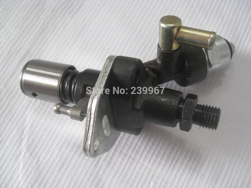Elektrische Kraftstoffeinspritzpumpe mit Solenoid für Yanmar L100 Kama Kipor 10PS Diesel freies Porto 406CC 418CC Generatoreinspritzung