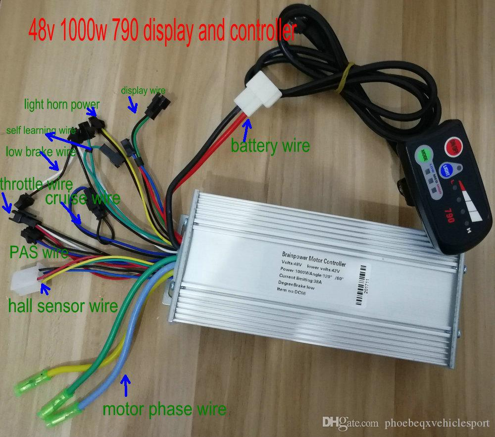 36v48v800w1000w Controller&display Group Control Panel 790 with ...