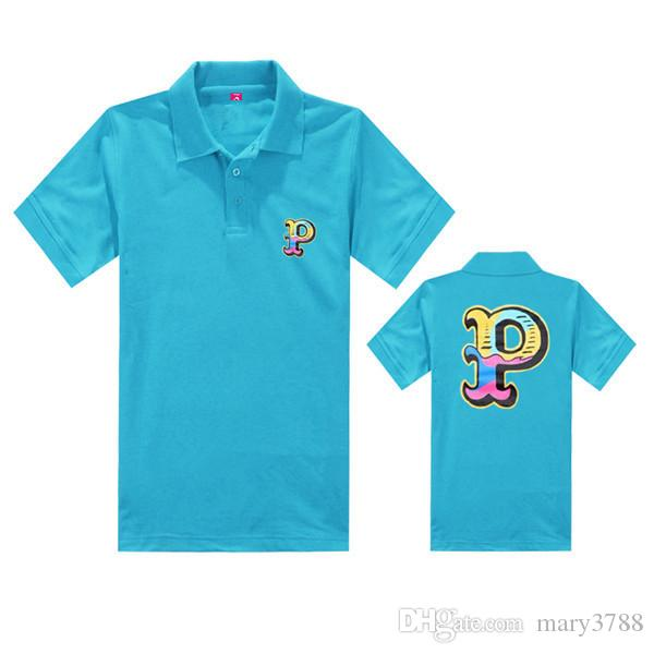 Pink dolphin-polo shirt number T-Shirt Man Breaking Bad Men Walter White Cook Men Tops Tees Summer Fashion New