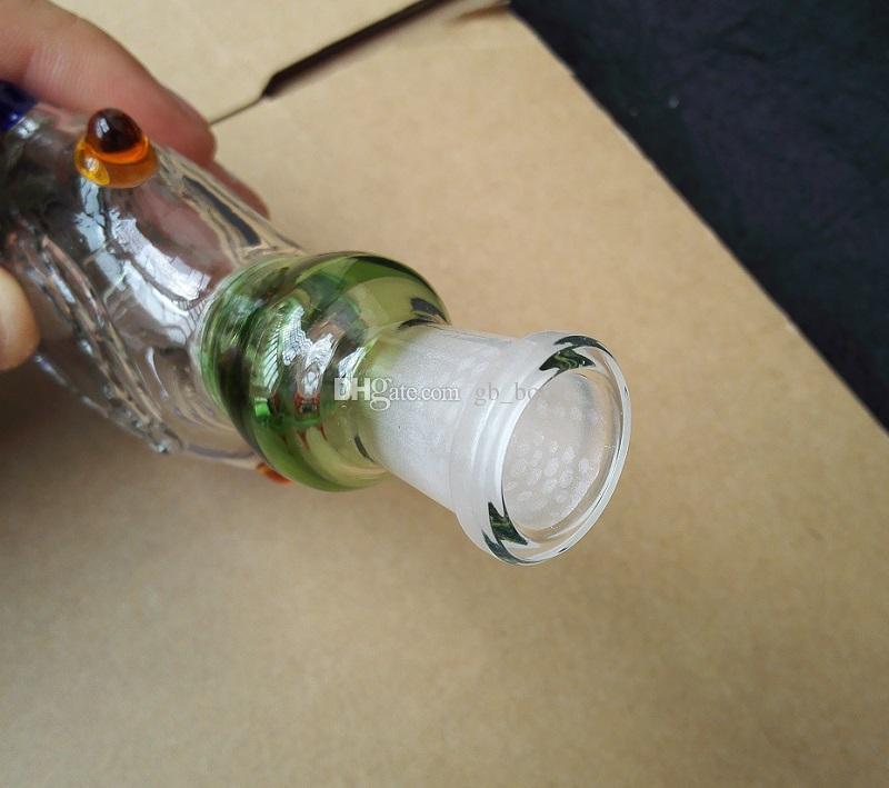 Nectar Collector Perc Colgantes Kit con 14 mm Titanio Uñas de vidrio Bongs plataforma petrolífera Refrigerado por agua y calidad superior a prueba de derrames