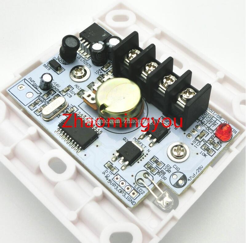 DC 12-24V 8A LED-Dimmer IR-Knopf Fernbedienungsschalter für dimmbare LED-Birnen oder LED-Lichtleisten
