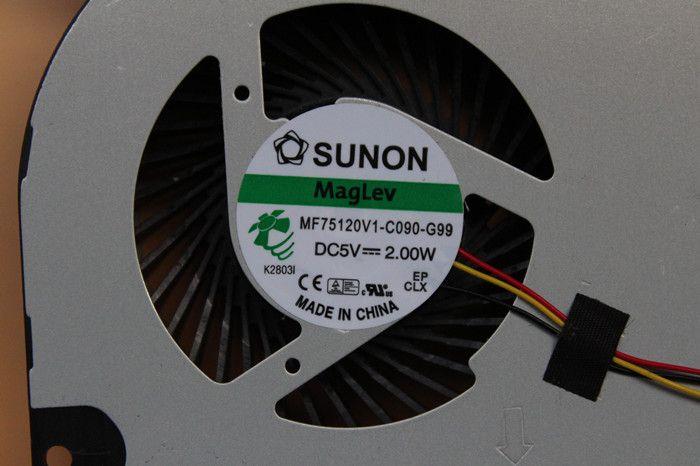 Nuevo ventilador de refrigeración Maglev Sunon MF75120V1-C090-G99 DC5V 2.00W original