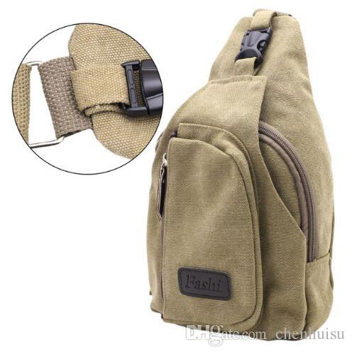 2017 Men Tactical Sling Chest Bag Pack Messenger Shoulder Bag ...