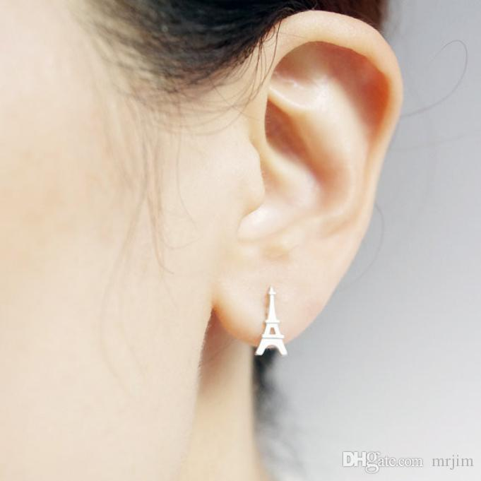En 2016, la tour composé nouvelles mode femmes boucles d'oreilles belles boucles d'oreilles en gros livraison gratuite meilleur cadeau