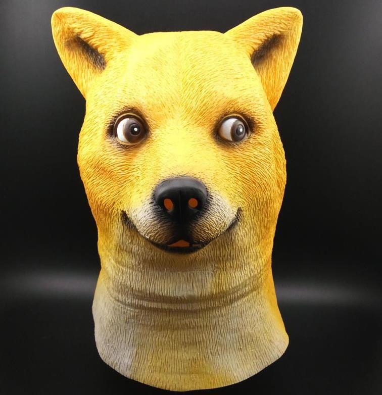 shiba inu doge dogs mask wow doge meme mask shiba inu doge dogs mask wow doge meme mask kabosu face latex