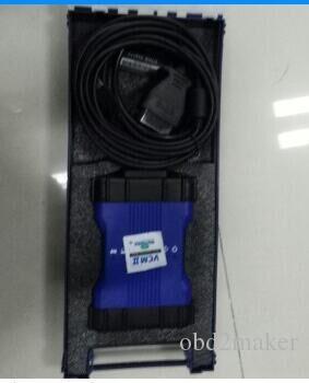 Yeni V143 VCM 2 Çoklu Fonksiyon ile Land Rover / Jaguar VCM2 IDS OBDII Otomatik Teşhis Aracı VCM II için jlr VCM II Mavi Renk