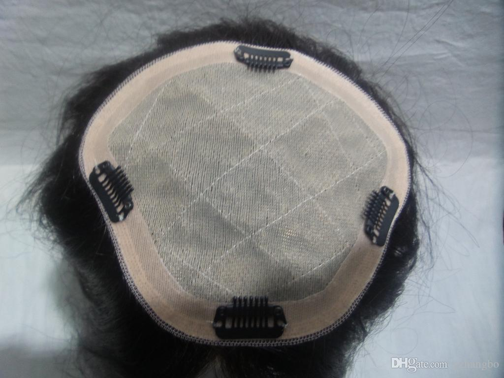 Cabelo europeu Perucas Cheias Do Laço Simulação Do Couro Cabeludo Simulação Do Couro Cabeludo Cor # 2 Cabelo Liso Pode Design Personalizado Boa Qualidade Kabell