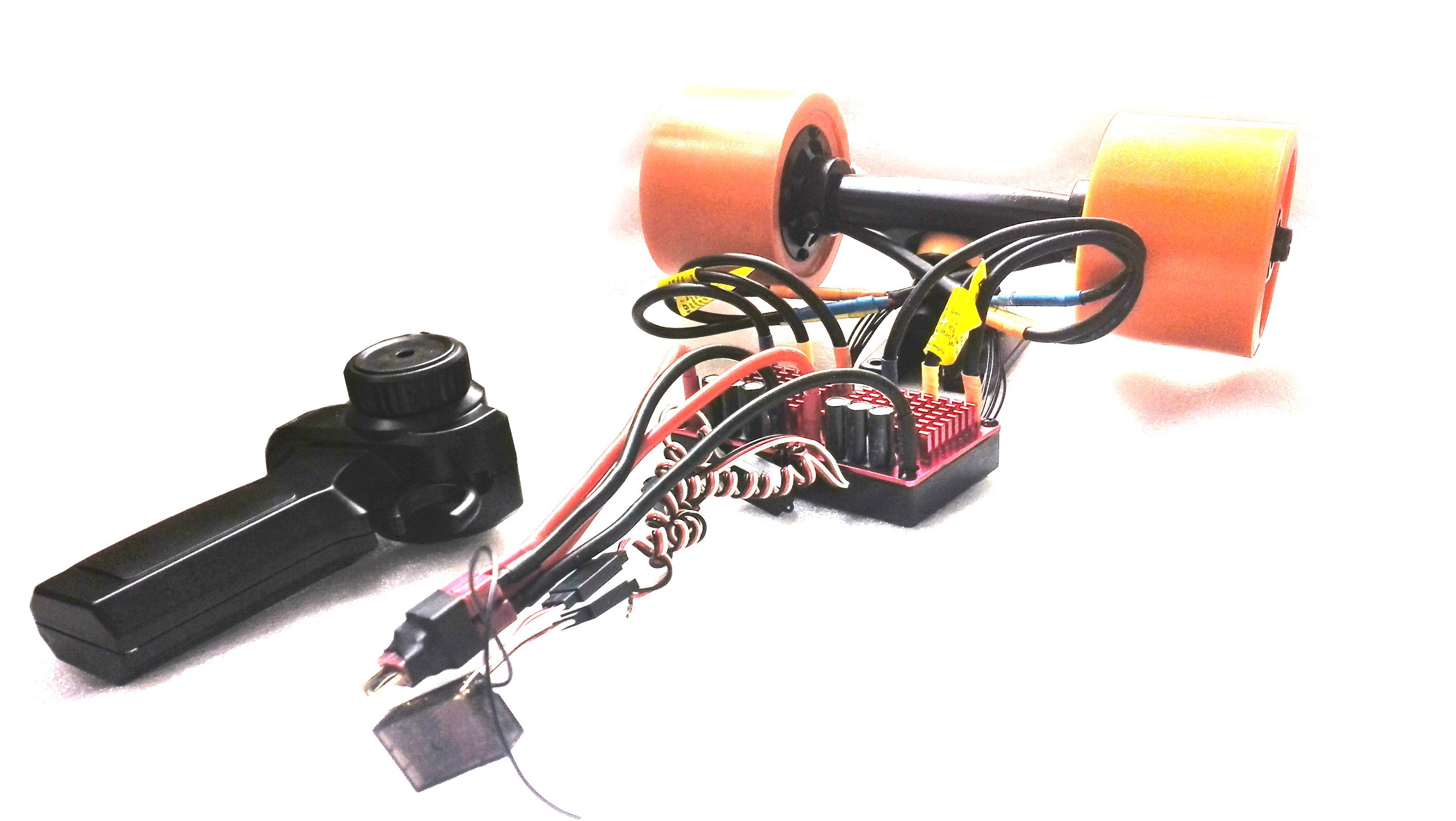 2019 sensored hub wheel motor kit for electric skateboard longboard from haidis10