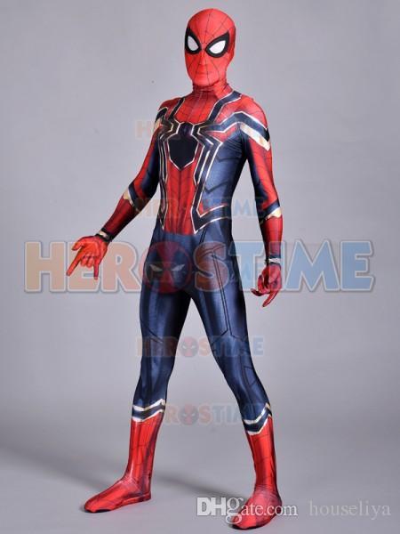 Spider Man Homecoming Costume Superhero Iron Spiderman Costume