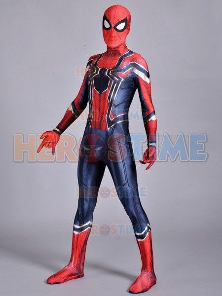 Compre Traje De Regreso Al Hogar De Spider Man Traje De Spiderman De Hierro  De Superhéroe Traje De Zentai De Cuerpo Entero Para Adulto   Niños A  57.18  Del ... 89c1067a17d5