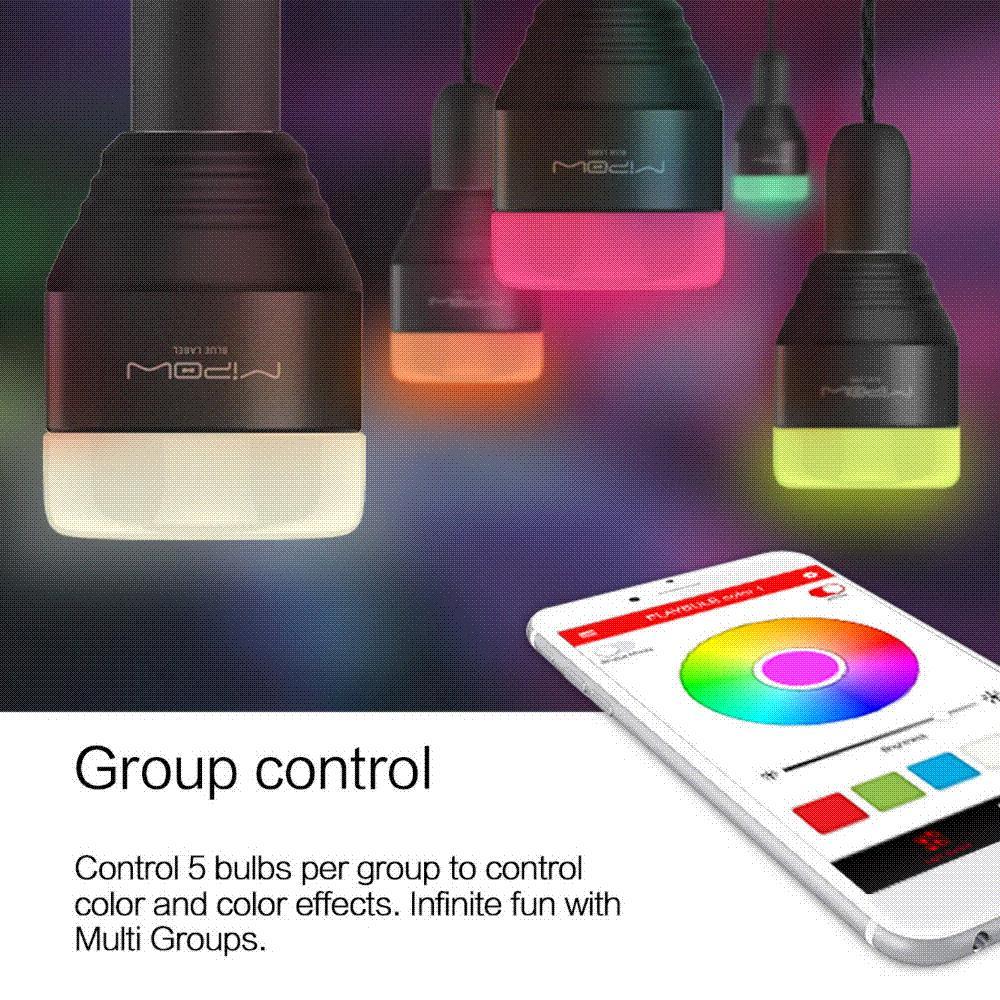 Acquista Lampadine Intelligenti Led Mipow Bluetooth App Smartphone Group  Controllato Dimmerabile Colore Cambiamento Delle Luci Decorative Di Natale  A $31.03 ...