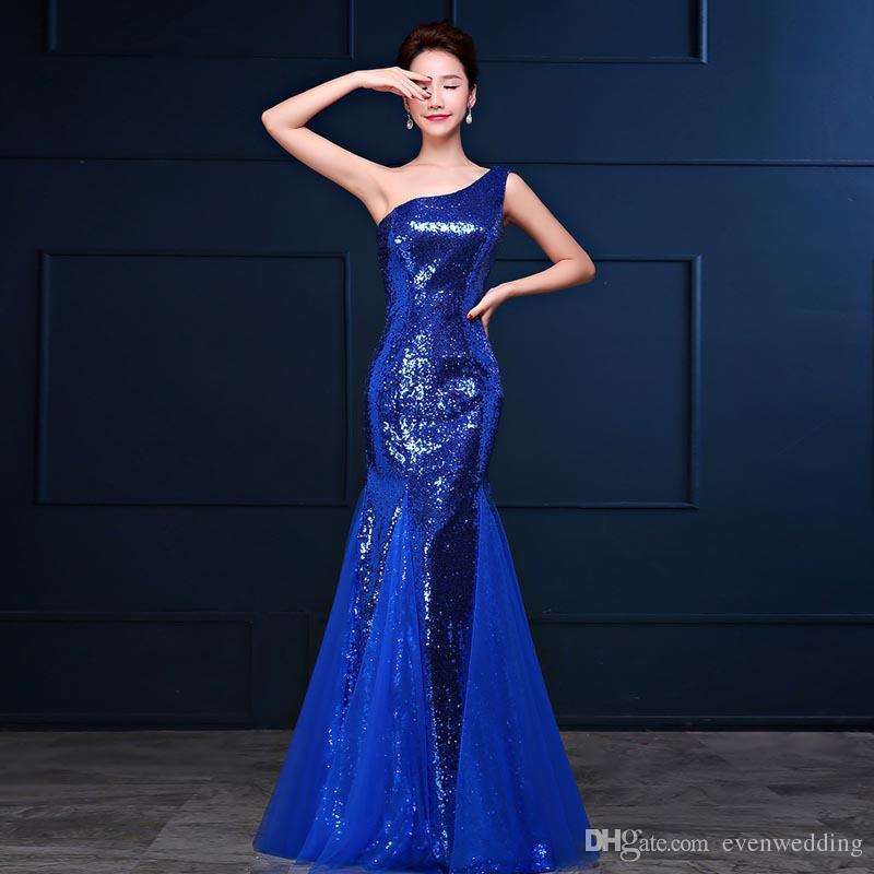 Lantejoulas de tule sereia vestidos de dama de honra 2018 Sexy longo da dama de honra vestidos Lace Up 2 estilo ordem mista